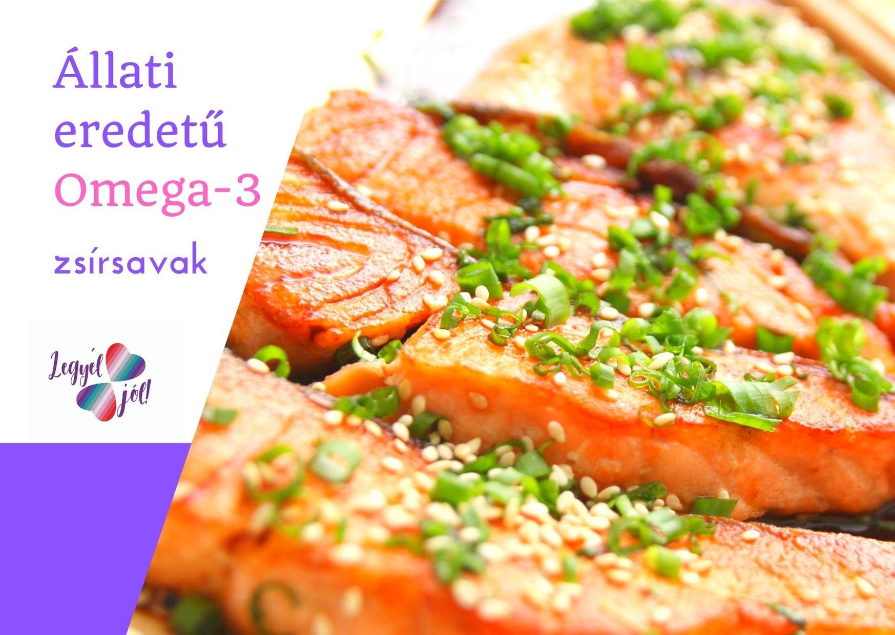 Állati eredetű omega 3