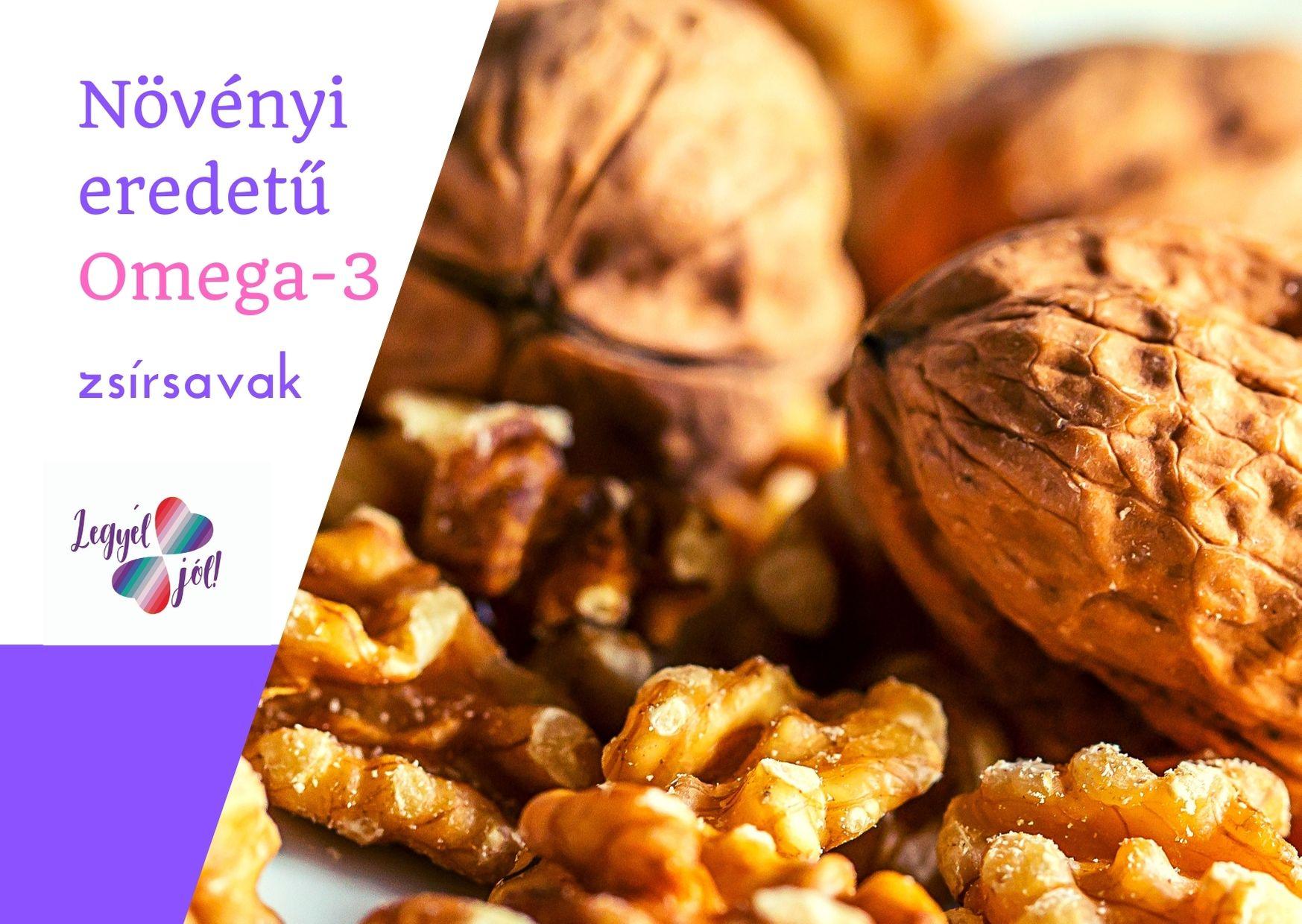 növényi eredetű omega 3